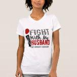 I Fight With My Husband Brain Cancer Tshirt