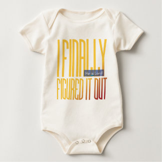 i finally figured it out... baby bodysuit