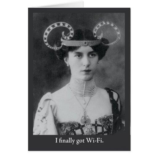 I Finally Got WiFi Card
