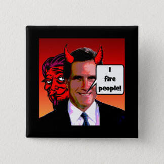 I fire people pinback button
