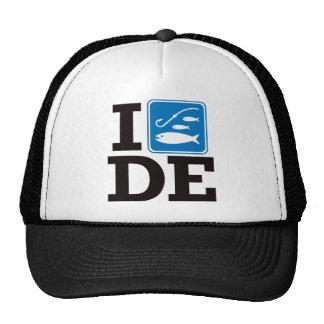 I Fish Delaware - DE Trucker Hats