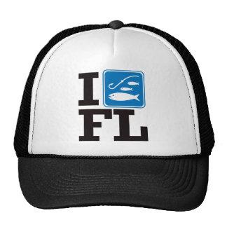 I Fish Florida - FL Trucker Hat