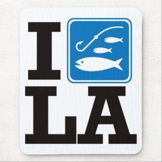 I Fish Louisiana - LA Mouse Pad