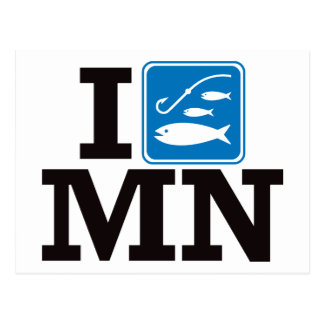 I Fish Minnesota - MN Post Cards