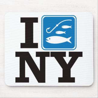 I Fish New York - NY Mouse Pad