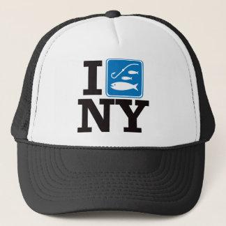 I Fish New York - NY Trucker Hat