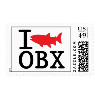 I Fish OBX. Stamps