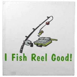 I Fish Reel Good Cloth Napkin