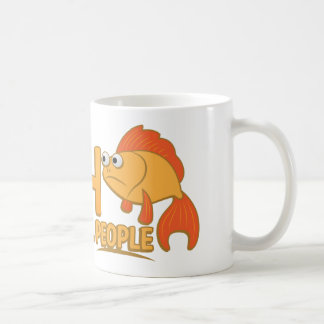 I fish so i wont kill people coffee mug