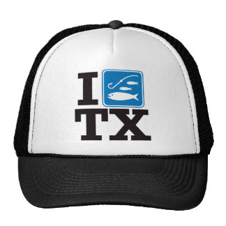I Fish Texas - TX Trucker Hat