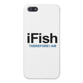 I Fish Therefore I Am iPhone 5 Cover