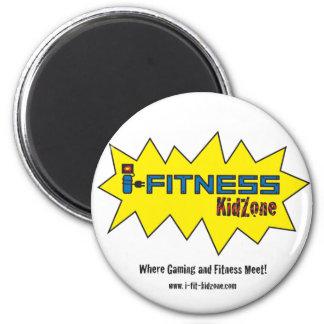 i-Fitness Kidzone 2 Inch Round Magnet