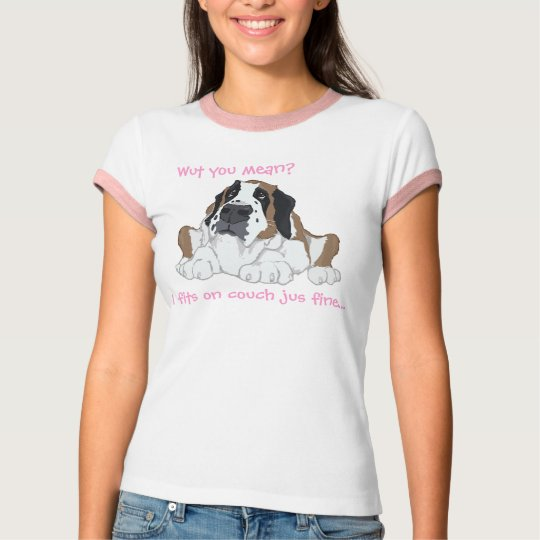 I fits on couch jus fine... T-Shirt