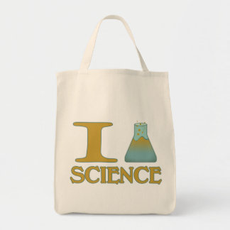 I Flask Science Tote Bags
