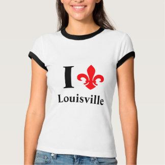 I fleur-de-lis Louisville T-Shirt