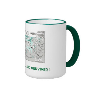 I Flew the IGS ... and Survived ! Ringer Coffee Mug