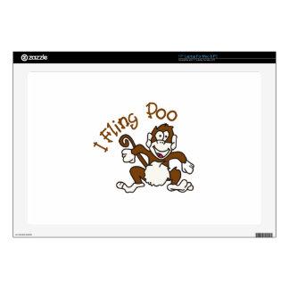 I Fling Poo Decals For Laptops