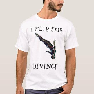 I Flip For Diving T-Shirt