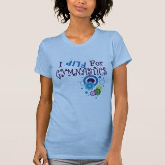 I Flip for Gymnastics- Girls Shirt