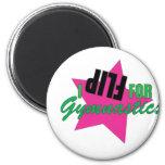 I Flip for Gymnastics Magnets
