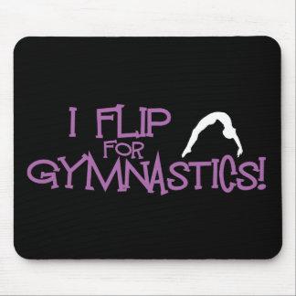 I Flip For Gymnastics Mouse Pad
