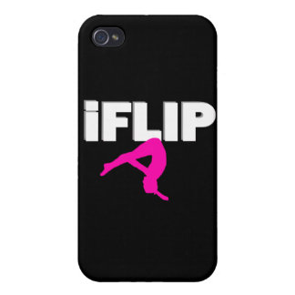 I Flip gymnastics iPhone 4 Cover