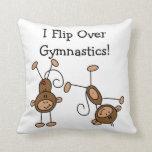 I Flip Over Gymnastics Pillow