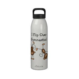 I Flip Over Gymnastics Reusable Water Bottle