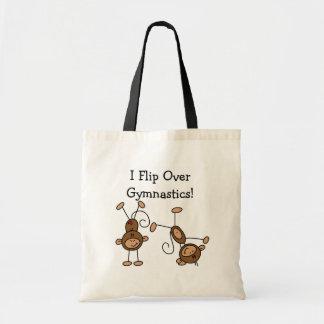 I Flip Over Gymnastics Tshirts and Gifts Tote Bag