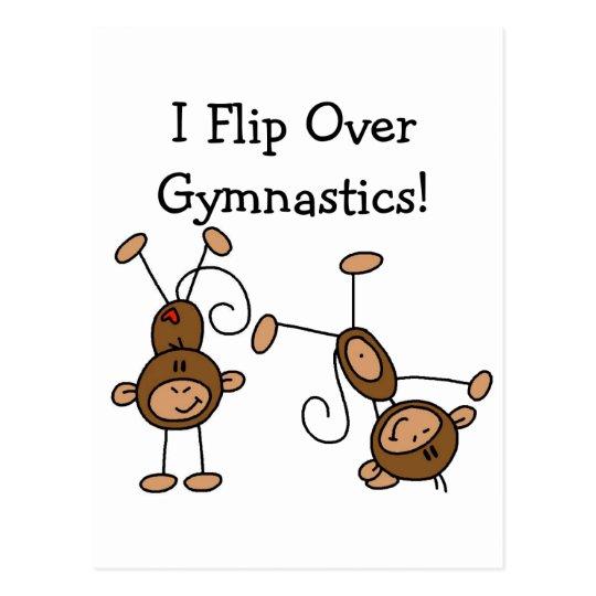 I Flip Over Gymnastics Tshirts and Gifts Postcard