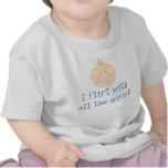 I Flirt With All The Girls Baby Boy Tee Shirt Gift