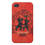 I Flirt With Danger 2 Cover For iPhone 4