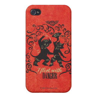 I Flirt With Danger 2 iPhone 4/4S Covers