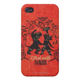 I Flirt With Danger 2 iPhone 4 Case