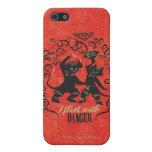 I Flirt With Danger 2 iPhone 5/5S Case