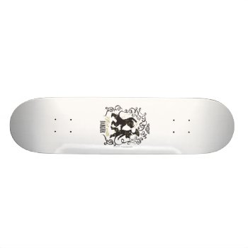 I Flirt With Danger 2 Skateboard Deck by pussinboots at Zazzle