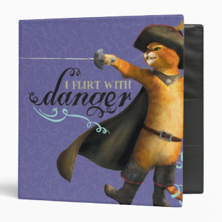 I Flirt With Danger (color) Binder