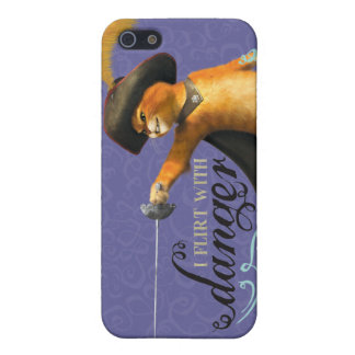 I Flirt With Danger (color) iPhone SE/5/5s Cover