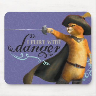 I Flirt With Danger (color) Mouse Pad