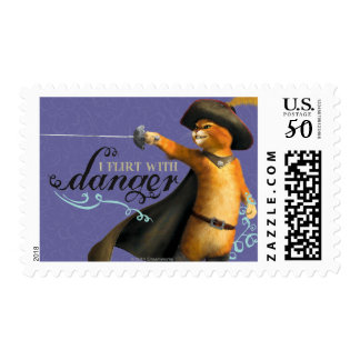 I Flirt With Danger (color) Postage