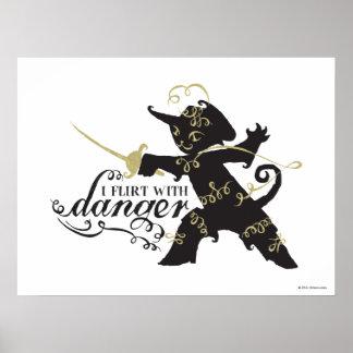 I Flirt With Danger Poster