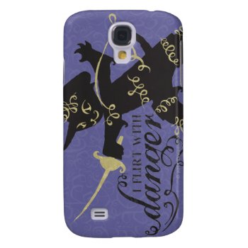 I Flirt With Danger Samsung S4 Case by pussinboots at Zazzle