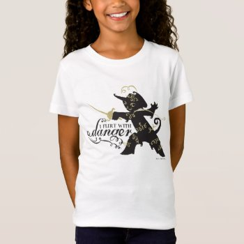I Flirt With Danger T-shirt by pussinboots at Zazzle