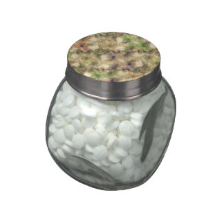 (i) floral gallardo jarras de cristal jelly bely
