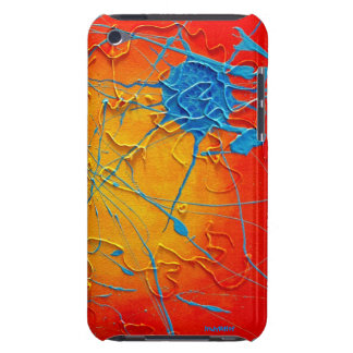 I Flung Blue Barely There iPod Case