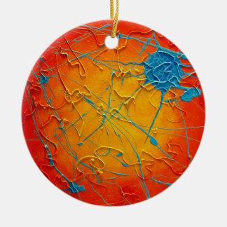I Flung Blue...the Ornament