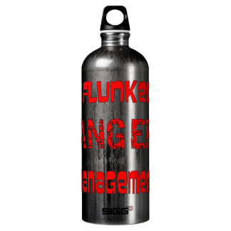 I Flunked Anger Management Water Bottle