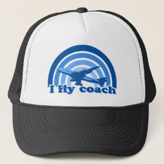 I fly coach hat