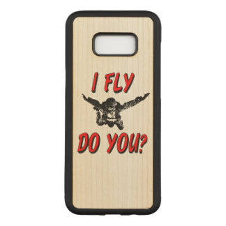 I Fly, Do You? (blk) Carved Samsung Galaxy S8+ Case