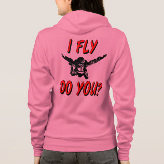 I Fly, Do You? (blk) Hoodie